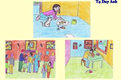 Đề bài: Phân tích bài Bức tranh của em gái tôi