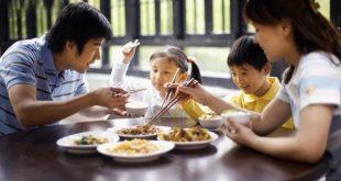 Đề bài: Tả bữa ăn gia đình`